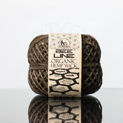 Bee Line Hemp Wick 200ft Original Spool (1)