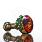 Frogbeard Glass honeycomb spoon fumed