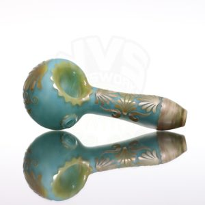 Liberty Glass Spoon - Blue - Italian Style Designs