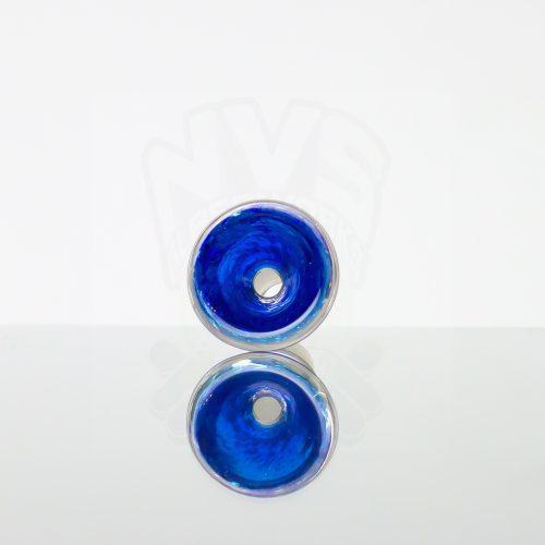 Dichroic Alchemy 14mm Slide Blue Silver (4)