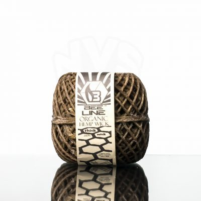 Bee Line Hemp Wick thick spool (1)