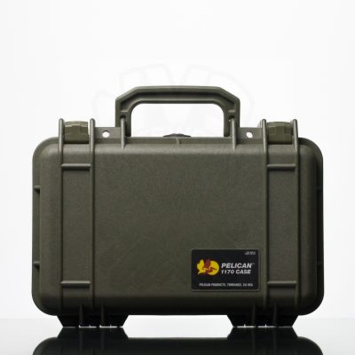 Pelican 1170 Case - Dark Green (1)