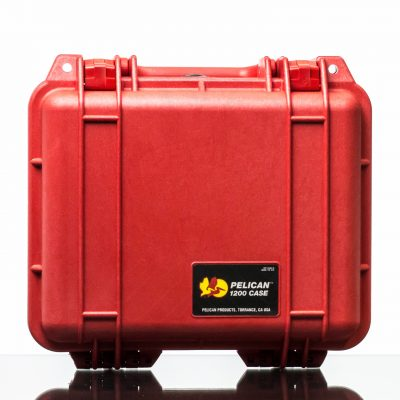 Pelican 1200 Case - Red (1)