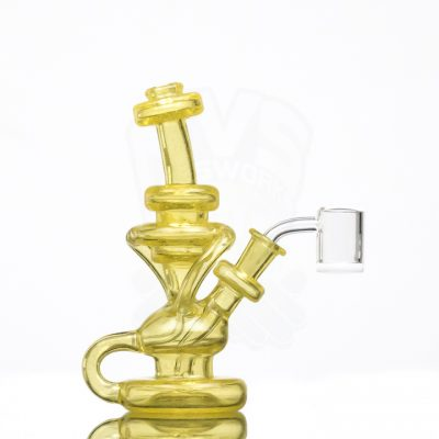 Michael Shea 6.5in Klein Recycler - Syzygy (CFL Reactive) 0591