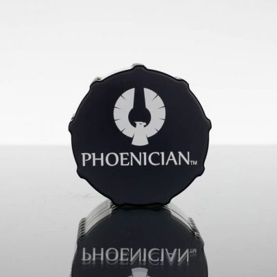Phoenician Grinder Medium 4pc - Jet Black