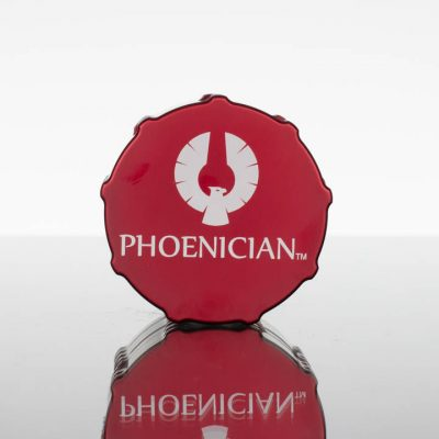 Phoenician Grinder Medium 4pc - Bordeaux Red