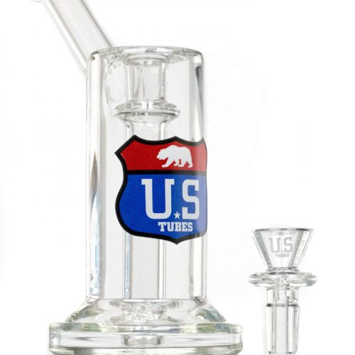 US Tubes Hybrid 3 hole - Red-White-Blue Interstate