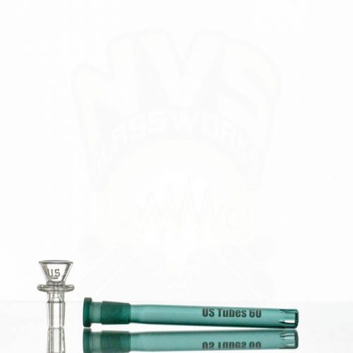 US Tubes 18in 9mm Beaker 59 GREEN JOINT Green label
