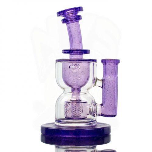 FatBoy Glass Torus Purple Lollipop