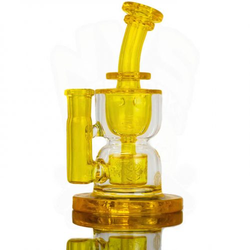 FatBoy Glass Full Size Hour Glass Torus Incycler - TERPS (CFL)