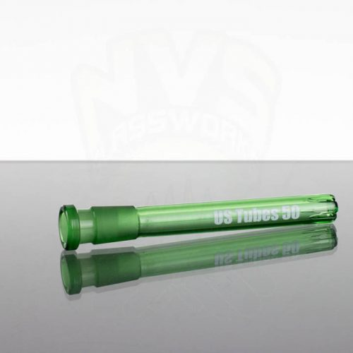 US Tubes 50 5in 14-18mm Downstem - Green