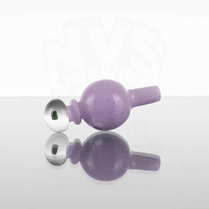 Harold Ludeman Opal Bubble Cap - Purple Lolli over Star White