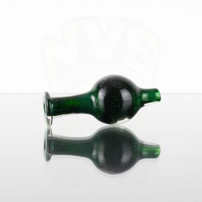 Pirate Glass Bubble Cap - Dark Green