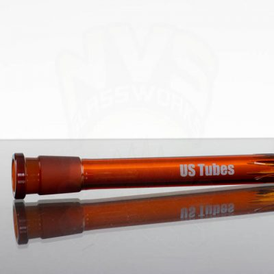 US Tubes 60 6in 18-24mm Oversized Downstem - Amber