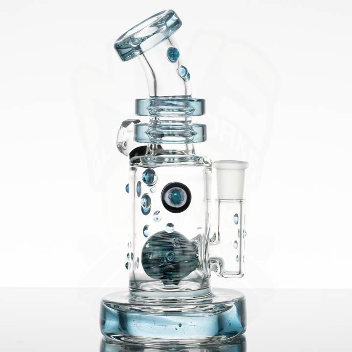 Hubbard Glass Hubb-Duction - Blue Stardust
