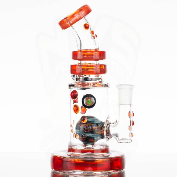 Hubbard Glass Hubb Duction - Orange Elvis