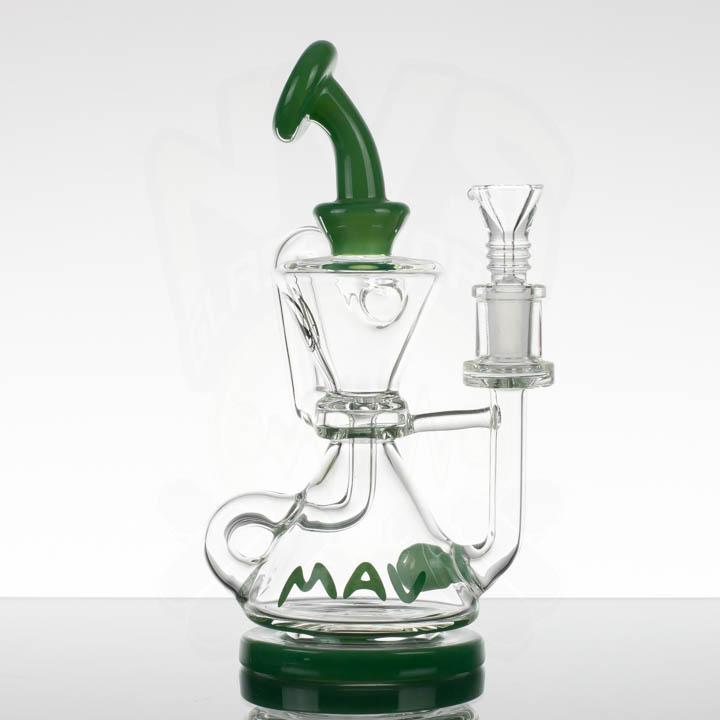 MAV Mini Two Hole Recycler - Green