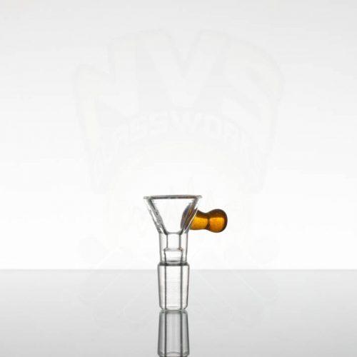 US Tubes 14mm Single Hole Slide - Amber