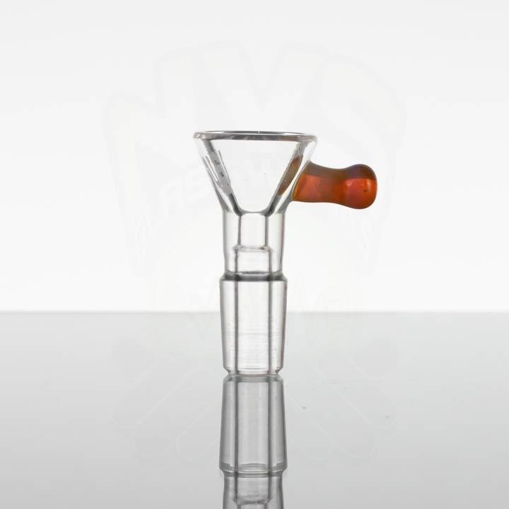US Tubes 14mm Single Hole Slide - Amber Purple