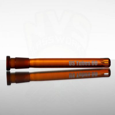 US Tubes 6.0in 60 14-18mm Downstem - Amber