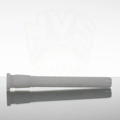 US Tubes 65 6.5in 18-24mm Oversized Downstem - White