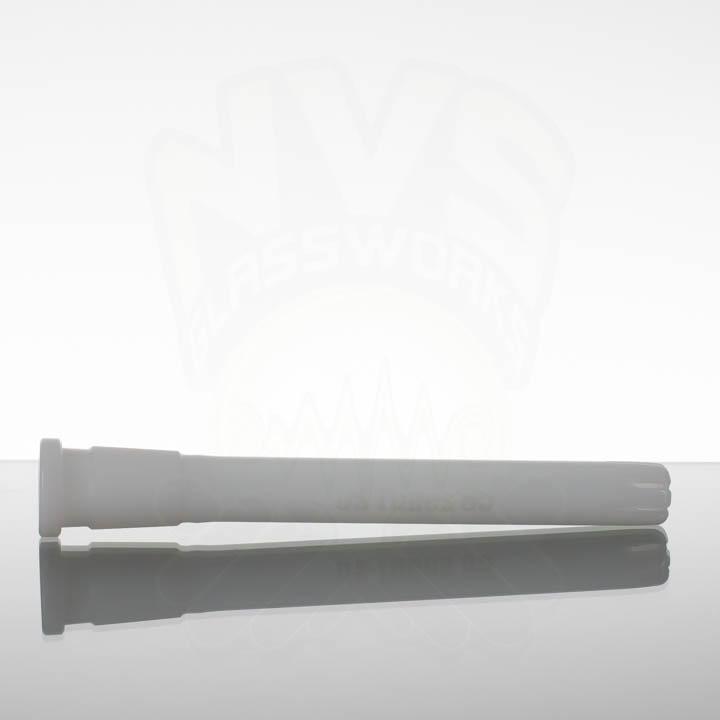 US Tubes 65 6.5in 18-24mm Oversized Downstem - White