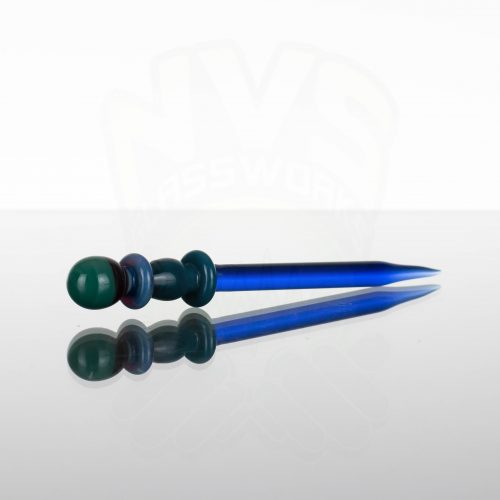 Monkey Boy Art Wizard Wand Dabber - Blue