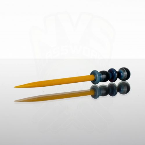 Monkey Boy Art Wizard Wand Dabber - Canary Yellow