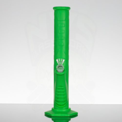 Pulsar 13.5in Silicone Straight Tube - Green