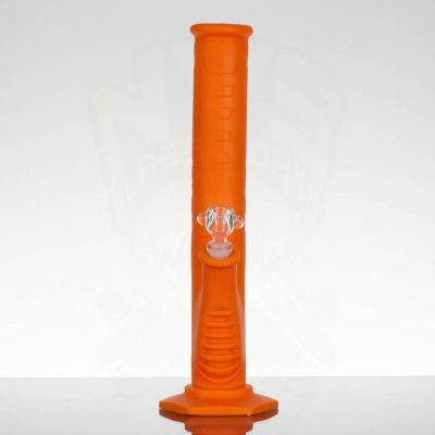 Pulsar 13.5in Silicone Straight Tube - Orange