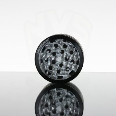 "SharpStone 2.5"" 4pc Glass Top - Black"