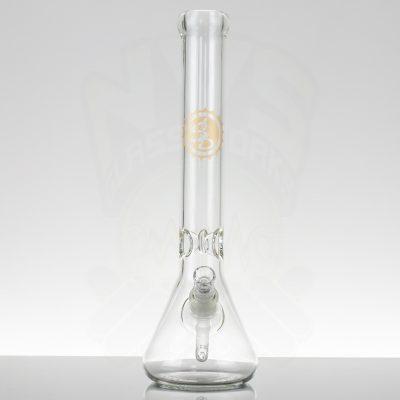 """Sheldon Black 16"""" Grasso Beaker - Bottle Cap Brass"""