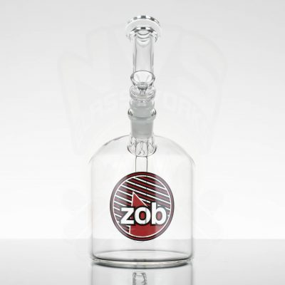 ZOB 110M Bubbler - Red Black Circle with Stripes