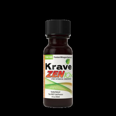 Krave Botanicals Zen 10x Tincture - 1fl oz