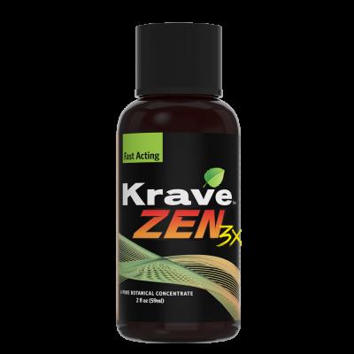 Krave Botanicals Zen 3x Tincture - 2fl oz