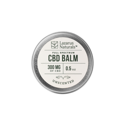 Lazarus Naturals Full Spectrum CBD Balm Unscented - 300mg 0.5oz