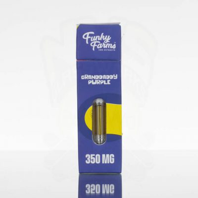 Funky Farms CBD Vape Cartridge - 350mg - Granddaddy Purple