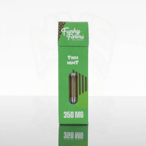 Funky Farms CBD Vape Cartridge - 350mg - Chocolate Mint