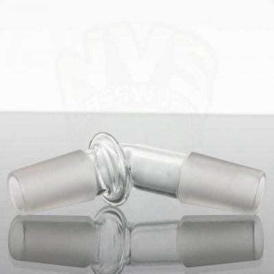 Generic Glass Adapter - 18M - 18M 45' Bent Maria