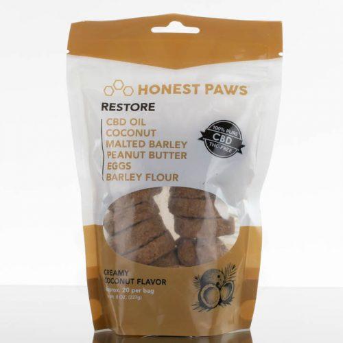 Honest Paws CBD Restore Treats - 20qty