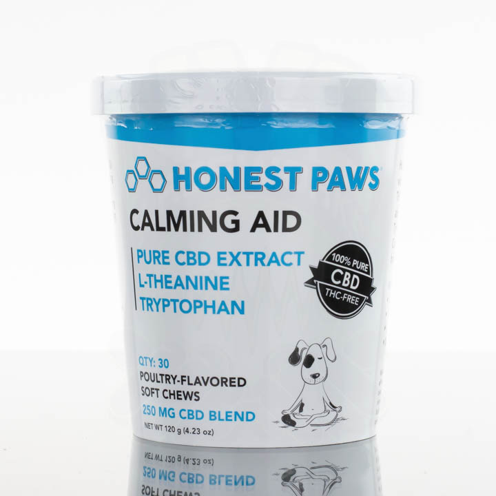 Honest Paws CBD Soft Chews - 250mg - Calming Aid
