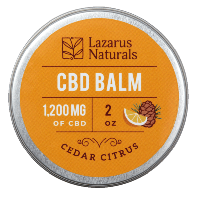 Cedar Citrus Full Spectrum CBD Balm - 1200mg 2oz