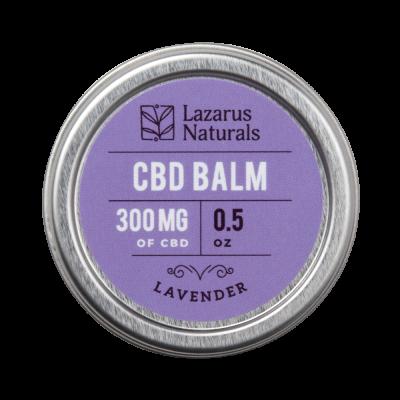 Lazarus Naturals Full Spectrum CBD Balm Lavender - 300mg 0.5oz