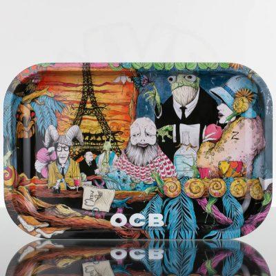 OCB Medium Rolling Tray - Paris Diner