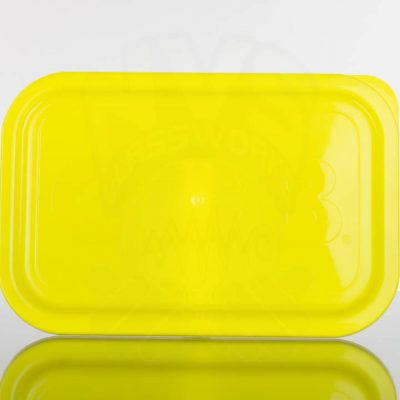 OCB Medium Rolling Tray Lid - Yellow