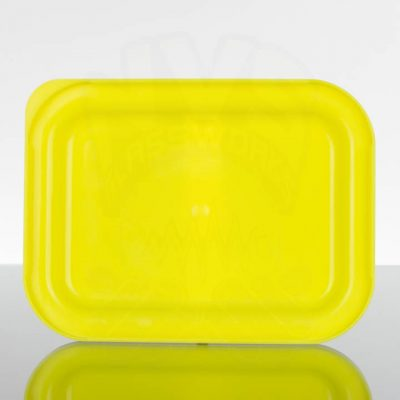 OCB Small Rolling Tray Lid - Yellow