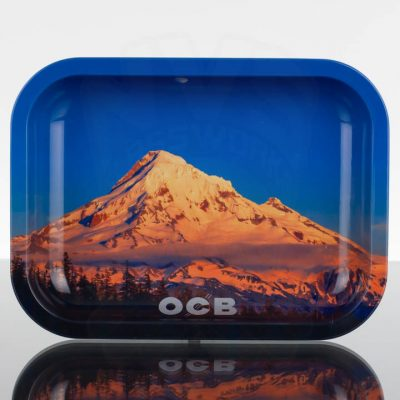 OCB Small Rolling Tray - Mount Hood