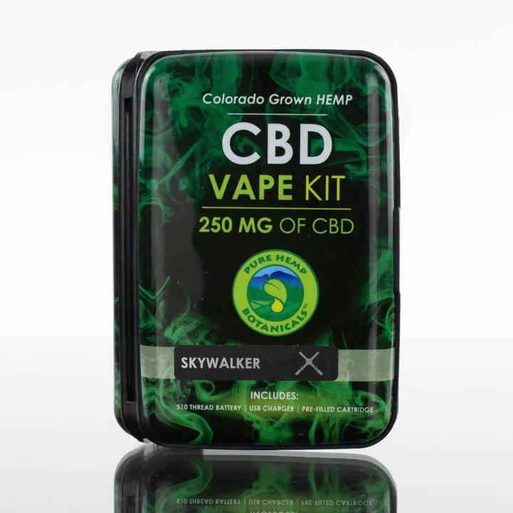 Pure Hemp Botanicals CBD Vape Kit - 250mg - Skywalker