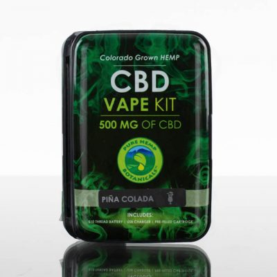 Pure Hemp Botanicals CBD Vape Kit - 500mg - Pina Colada