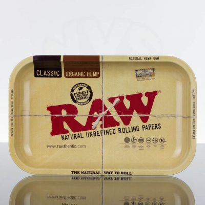 RAW Medium Metal Rolling Tray
